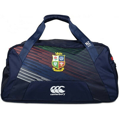 Canterbury British & Irish Lions 2017 Medium Training Holdall Bag Navy Blue