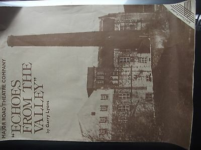 An old theatre programme Aire Valley Yorkshire