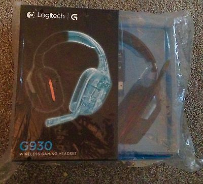Logitech 930 Wireless Headphones Perfect New Boxed