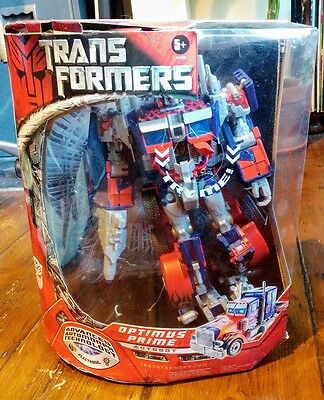 Transformers Movie Leader Class Optimus Prime 2007 Boxed & Complete