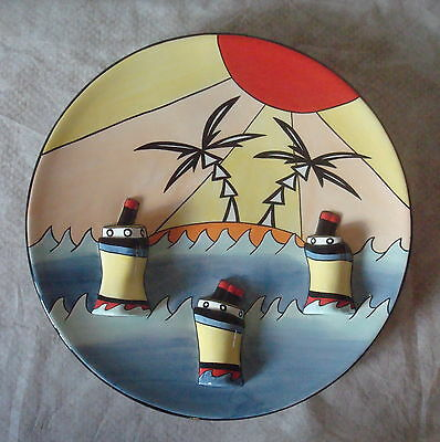 "Lorna Bailey Charger 13.5 Inches ~ ""ships"" ~ Limited Edition ~ Excellent~"