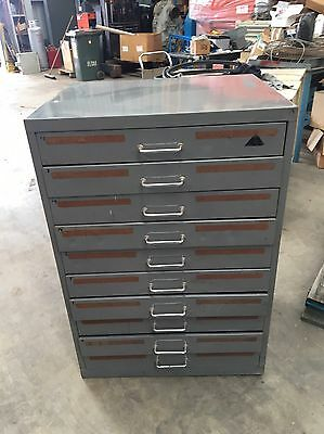10 Drawer Metal Storage Cabinet Tool Drawer #b