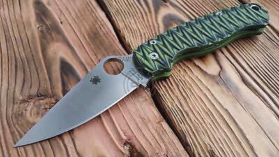 Paramilitary 2 Custome, scales, for Spyderco - Enco (Knife not included)