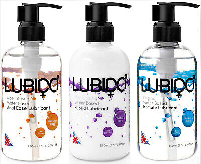 Ludido  Original Anal or Hybrid Water Based Lubricant Intimate Vaginal Lube