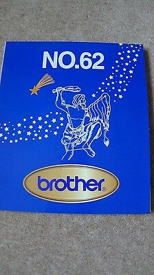Brother Embroidery Card - 62 Star Signs