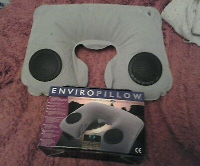 Enviropillow comfort travel pillow relaxing x 2
