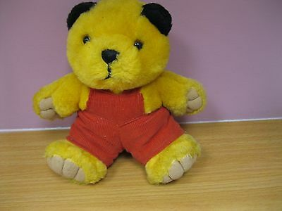 "Sooty Teddy Soft Toy. approx 8"" tall"