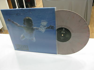 Nirvana Lp Nevermind Marble White Vinyl