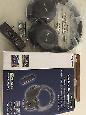 Nextbase NBSDVWHK Wireless Headphones With IR Transmitter for SDV48 & 49 Series
