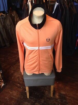 Vintage Sergio Tacchini Dallas Tracksuit Top XL Made In ITALY 1980s