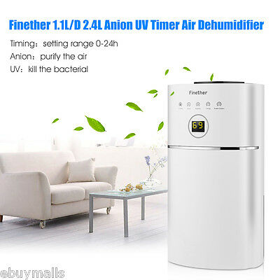 12L Intelligent Multi-models Air Dehumidifier Anion Purify Timer Damp Mould Home