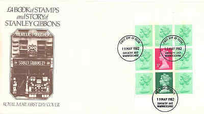 1982 Story Stanley Gibbons Prestige pane unaddressed Royal Mail fdc FDI cancel