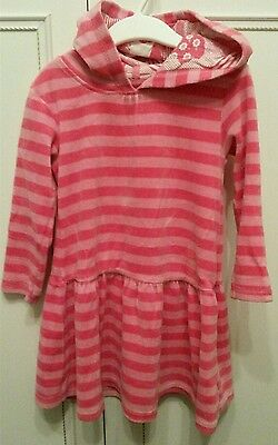 Indigo collection M&S girls dress hoodie great condition 2-3 years