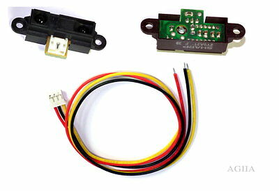 New Arduino Sharp GP2Y0A2YK IR Infrared Range Sensor With Cable
