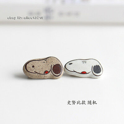 Chinese Handmade ceramic products Snoopy Breastplate 1piece