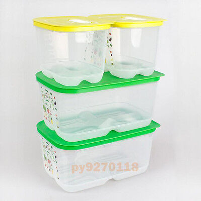 NEW Tupperware VentSmart Medium-Small High Set of 4 + Free Shipping