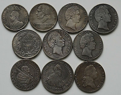 3. Germany 1531-1929 10 Coins ! ! !