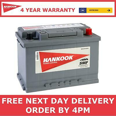 096 Hankook Car Battery 12V 72AH 610A - 4 YEAR WARRANTY MORE POWER