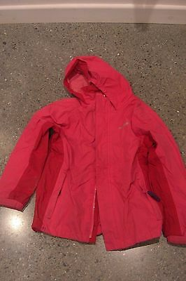 Girl's Regatta waterproof coat & fleece age 9-10