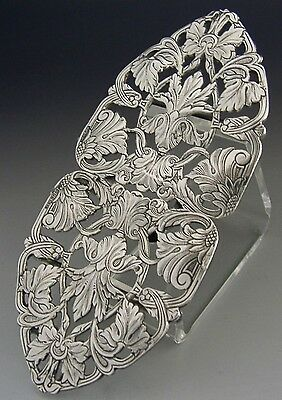 Beautiful Art Nouveau Style Belt Buckle / Nurses Buckle 1998 Ari D Norman
