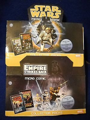 IDW Marvel STAR WARS & Empire Strikes Back  Micro Comic / poster sets + more