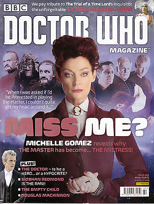 Doctor Who Monthly Issue No.480  Panini UK Winter 2014/2015