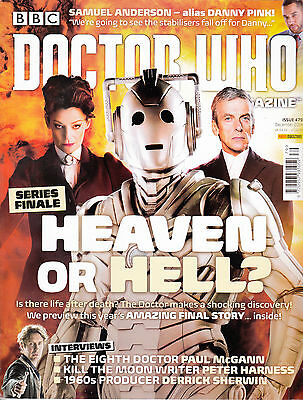 Doctor Who Monthly Issue No.479 Panini UK December 2014