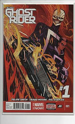 All-New Ghost Rider #1 Nm/nm+ 2014 1St App Robbie Rayes Agents Of Shield!