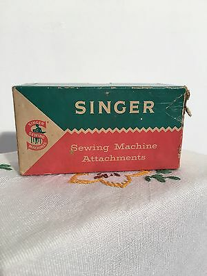 Singer Sewing Machine Spare Parts In Box