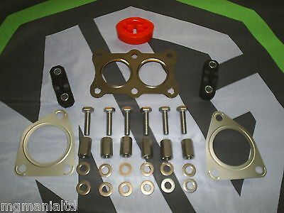 MGF MG F MK2 Exhaust Fitting Kit OEM parts Stainless mgmanialtd.com