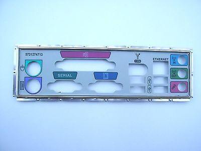 Joblot of 200 IO I/O Shield Back Plate with 4 USB + Rounded Firewire + Network