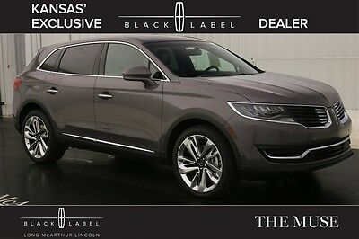 2016 Lincoln MKX BLACK LABEL MUSE THEME NAV SUNROOF MSRP $63665 AWD VOICE NAVIGATION MOONROOF VENETIAN LEATHER REMOTE START REAR VIEW CAMERA