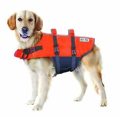 """Outward Hound Ripstop Dog Life Jacket Large for dog 26-35"""", 40-70lbs"""