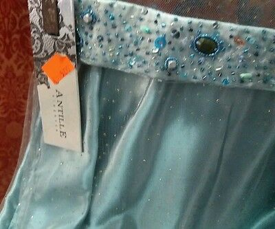 CENERENTOLA Frozen COSTUME ballo VESTITO CARNEVALE COSPLAY BLU DRESS PRINCIPESSA