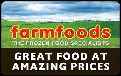 Farmfoods Vouchers, discount, coupons Worth £30 Expiry 24th December 2016