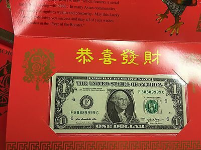2017 Rooster Lucky Note, Serial #88889999