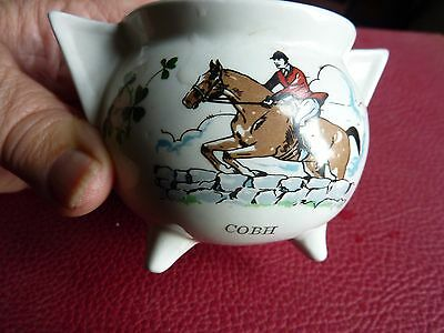 Carrigaline  Pottery, Cork -  Two-Handled, Three-Legged Pot From Cobh -  Used
