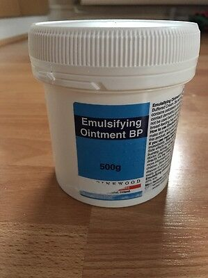 Emulsifying ointment tub 500g For dry skin conditions