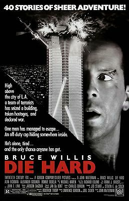 DIE HARD 11x17 mini movie poster collectible