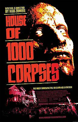 HOUSE OF A THOUSAND CORPSES MAIN  11X17 Movie Poster collectible RARE CLASSIC
