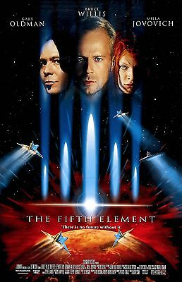 THE FIFTH ELEMENT 11X17 Movie Poster collectible