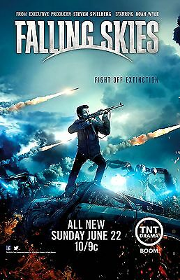 FALLING SKIES  BLUE MISSLE 11x17 MINI MOVIE POSTER COLLECTIBLE