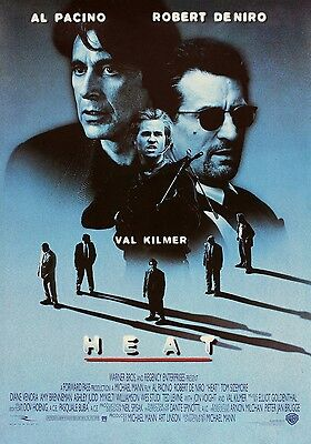 HEAT 11x17 MOVIE POSTER COLLECTIBLE