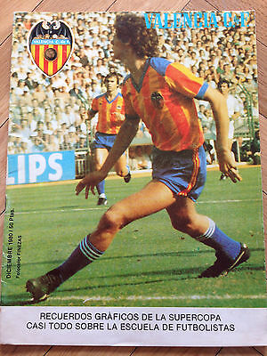 Valencia Spain Nottingham Forest England Super Cup Supercup 1980