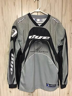 Dye Paintball Jersey - Gray - Adult Large