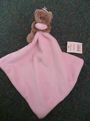 New with tags baby girl comforter small teddy and small blanket