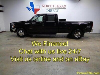 2000 Ford F-350  2000 F350 Crew Cab 2WD Dually Long Bed Tow Package 7.3 Powerstroke Diesel Texas