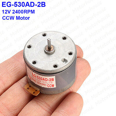 EG-530AD-2B DC 12V CCW Capstan Motor Tape Deck Recorder Audio Spindle Motor