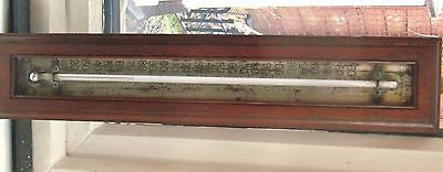 Rare Antique Thermometer Made By S & A Calderara Of London