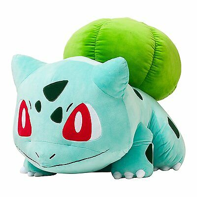 55cm NEW Pokemon Go Bulbasaur Plush Soft Teddy Stuffed Dolls Kids Toy